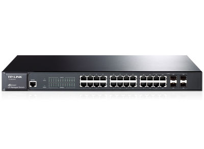 TP-Link TL-SG3424 24 port Gigabit Switch 10/100/1000 Managed