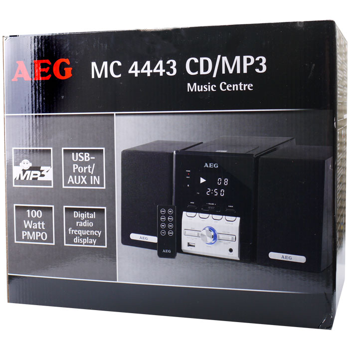 AEG MC 4443 Music Centre CD MP3 Player Ραδιόφωνο