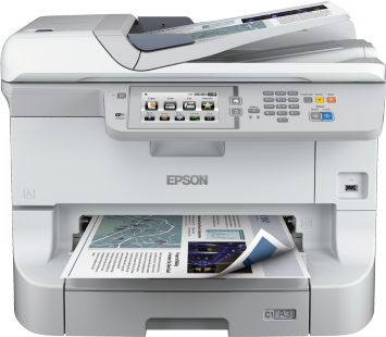 EPSON WorkForce Pro WF-8510DWF A3/A4 24ppm PSC-Fax WiFi/Duplex