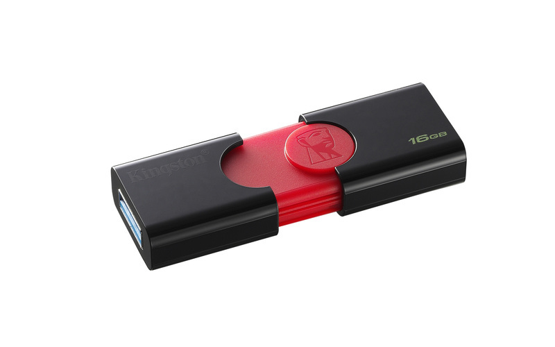 Kingston Data Traveler 106 DT106/16GB USB 3.0 Black & Red
