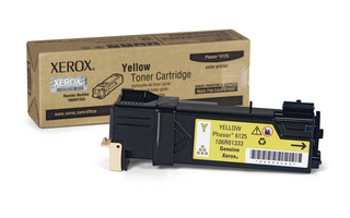 XEROX PHASER 6125 - YELLOW TONER - 106R01333