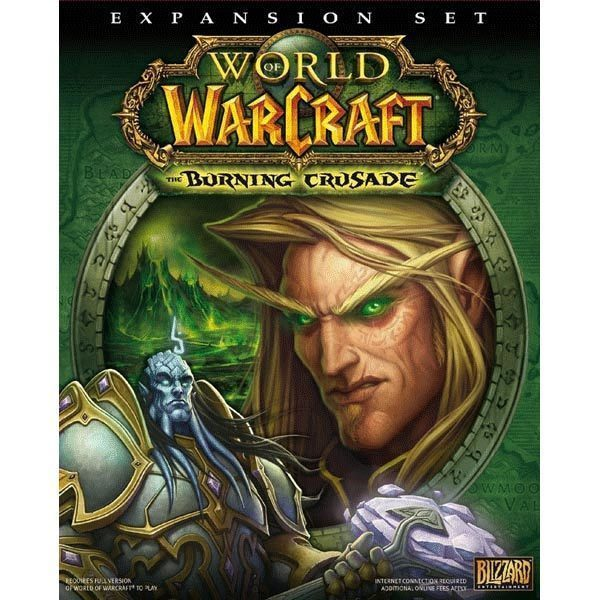 PC GAME WARCRAFT BURNING CRUSADE EXPANSION