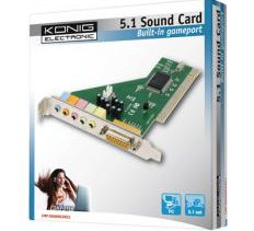 KONIG 5.1 Sound Card Digital Surround Κάρτα ήχου