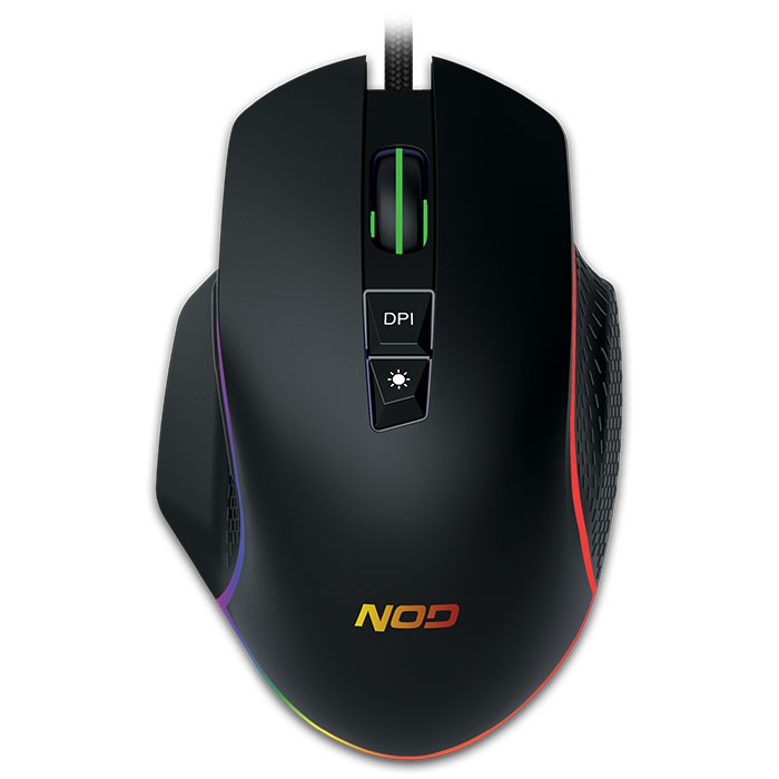 Gaming Mouse NOD RUN AMOK USB Ενσύρματο 6400dpi RGB