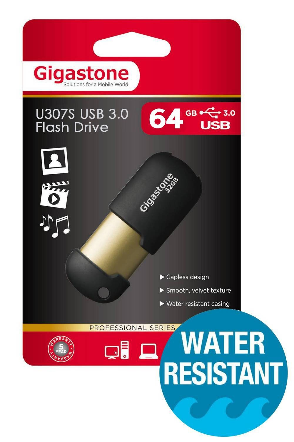 Gigastone 64Gb USB 3.0 Flash Disk U307S