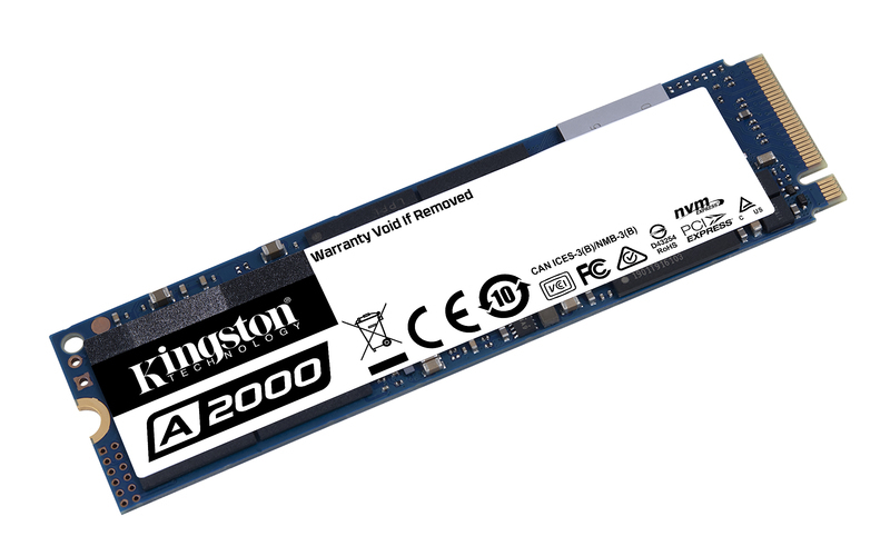 Kingston SSD 500GB M.2 A2000 SA2000M8/500G NVMe PCIe