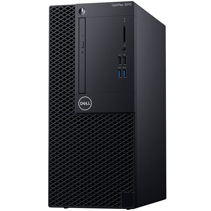DELL PC OptiPlex 3070 MT i3-9100 8Gb-256SSD W10P 5YW DRW