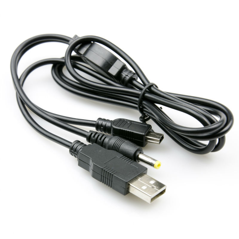 PSP RECHARGEABLE & DATA TRANSFER CABLE RETRACTABLE