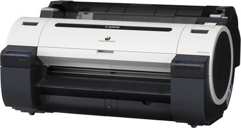 "Canon Plotter IPF 670 5Color 2400dpi A1 24""  60,1 cm"