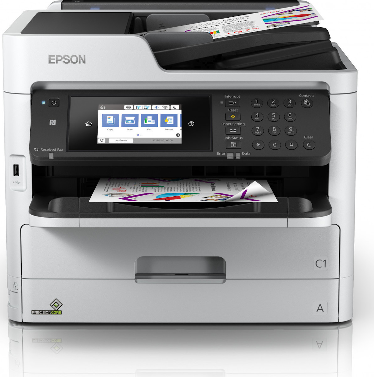 Epson Business Workforce WF-C5710DWF A4/34ppm/4800/1200/USB/WiFi