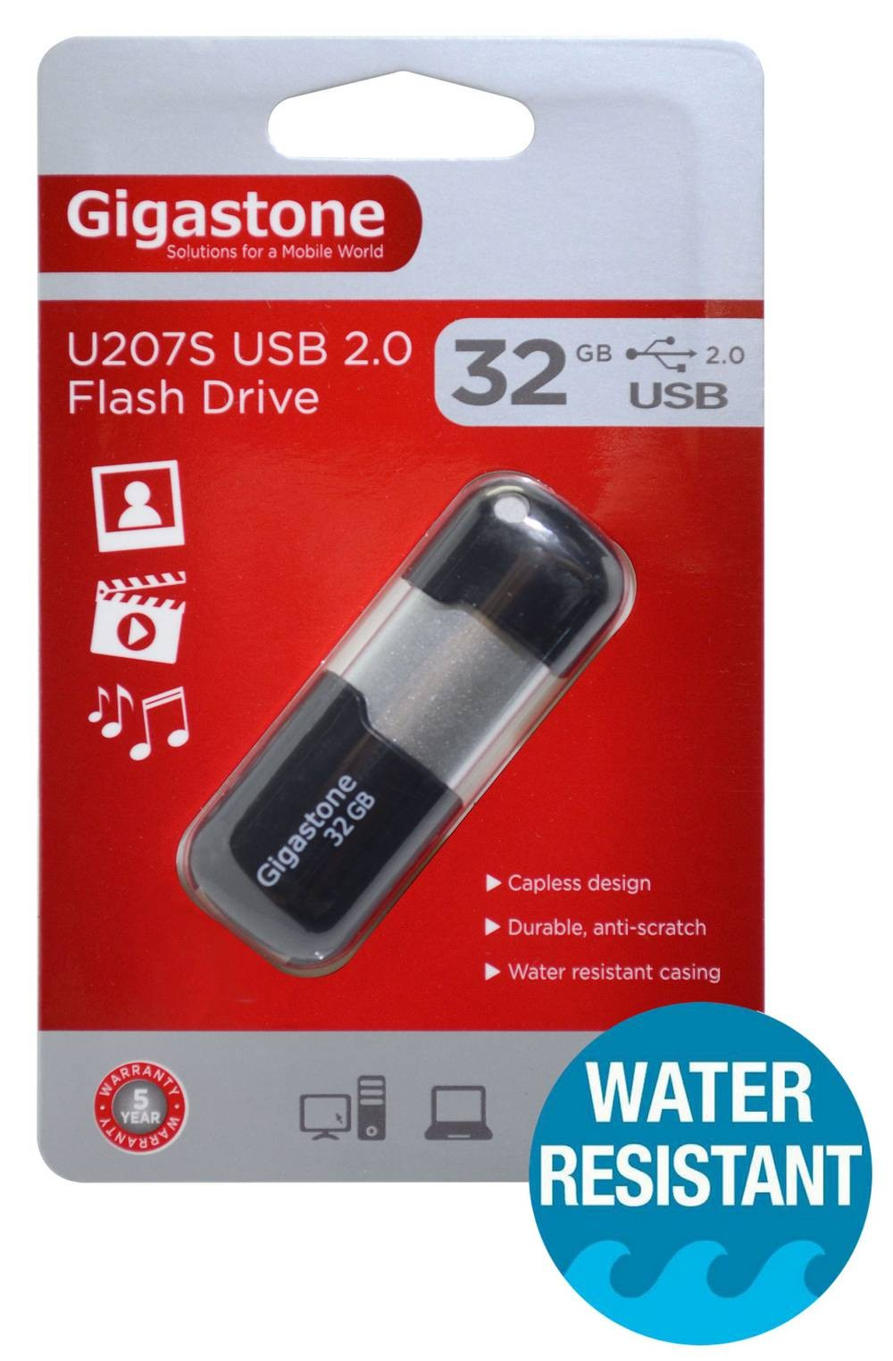 Gigastone 32Gb USB 2.0 Flash Disk