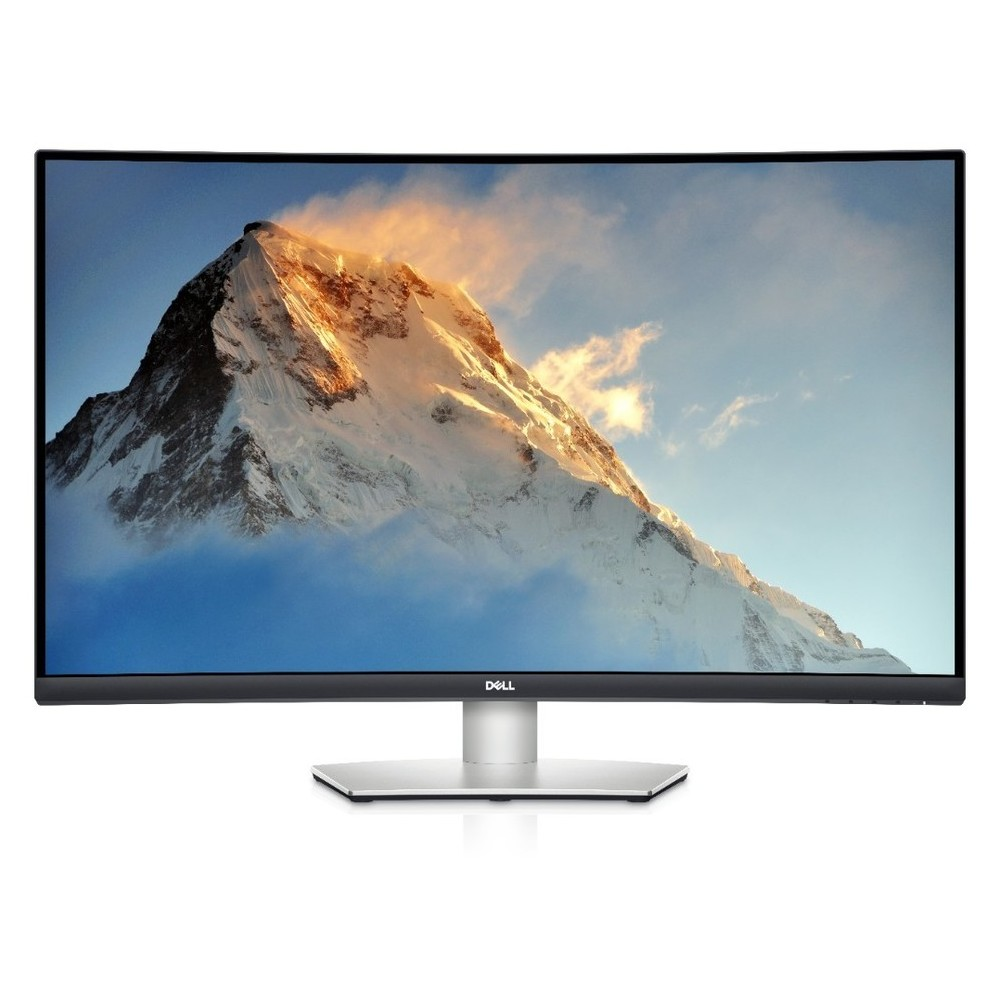 DELL 31.5'' S3221QS Curved 4K VA HDMI DP FreeSync Speakers 3YW