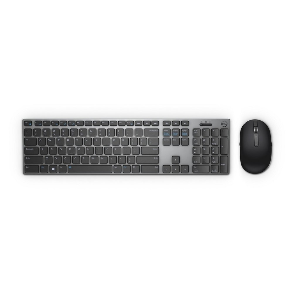 DELL Keyboard & Mouse KM717 US/Intrn Wireless Set Ασύρματο