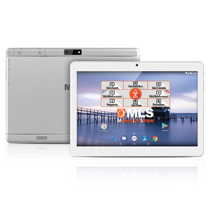 "Tablet MLS iQTab Angel 3G 9.6"" Quad-core IPS"