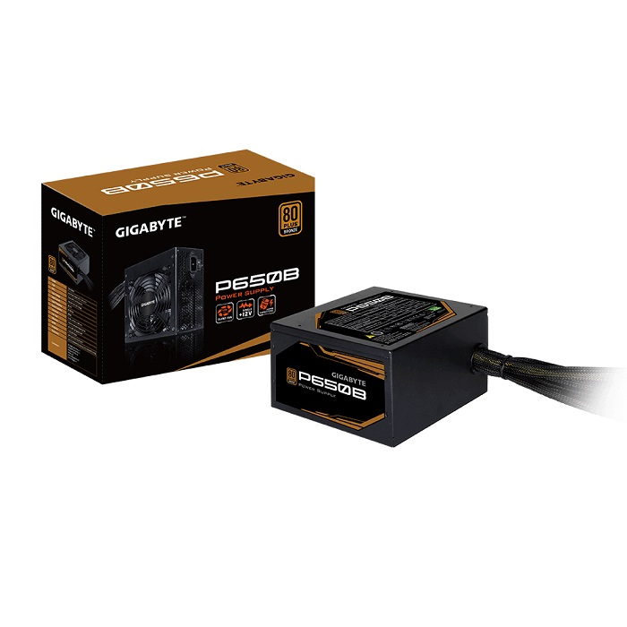 GIGABYTE Power Supply 650W 80+Plus BRONZE