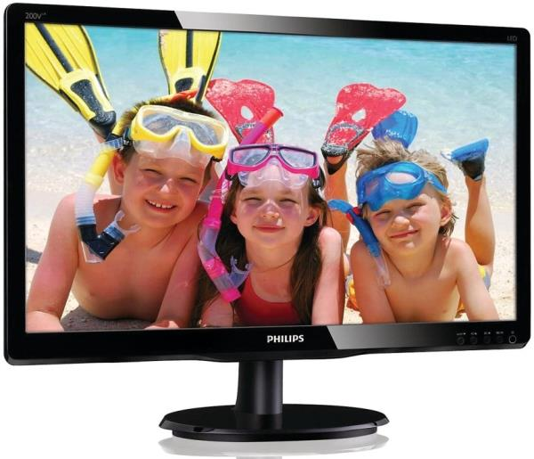 "PHILIPS 20"" TFT 200V4LAB2 LED HD/200cd/5ms/Multimedia"