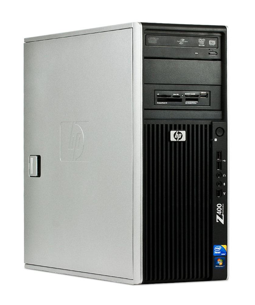 HP Workstation Z400/Xeon W3520/4GB/250GB/DVD-RW/Win10Home #RFB