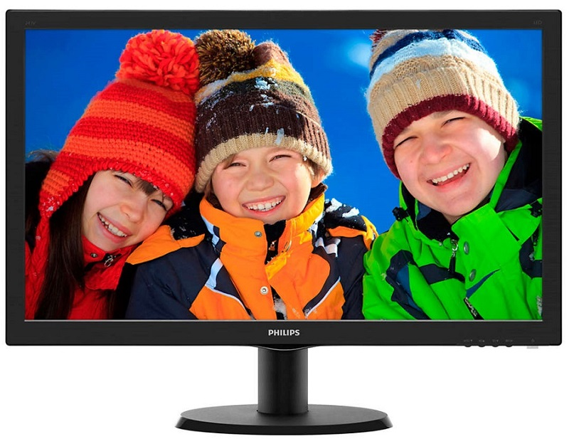 "PHILIPS 24"" TFT 243V5LHAB5 LED V-Line 1920x1080/HDMI με Ηχεία"