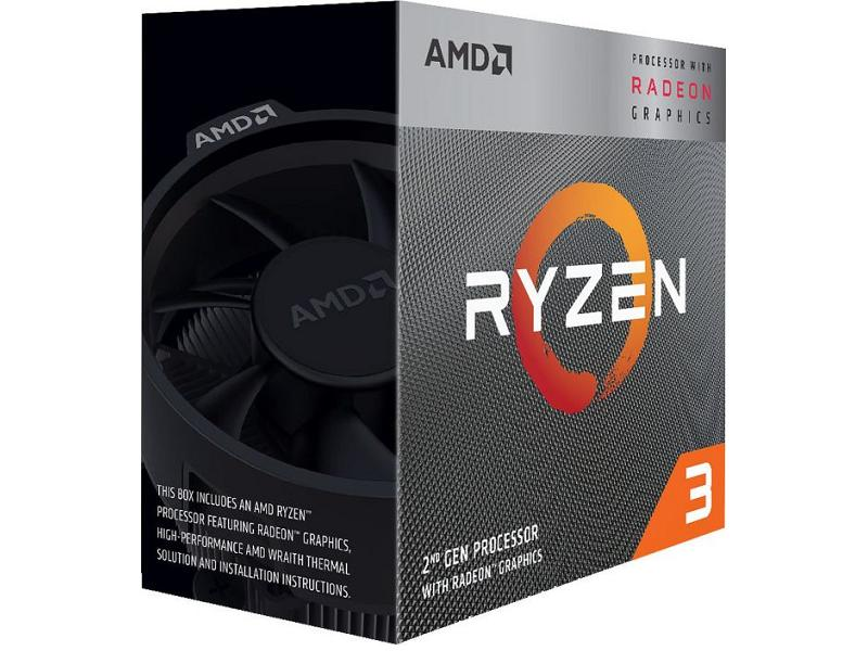 AMD CPU RYZEN 3 3400G 4.2GHz AM4 (4C/8T)