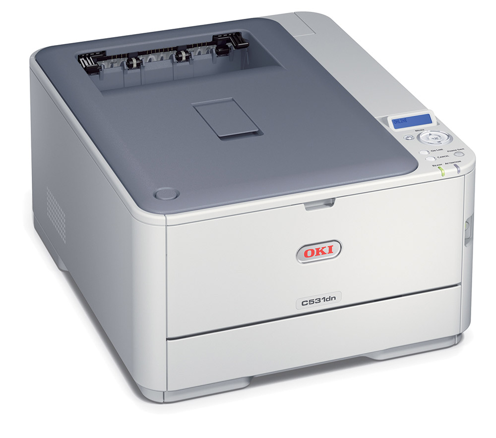 OKI C531DN Laser Printer A4/30ppm/1200dpi/256Mb/USB+Lan