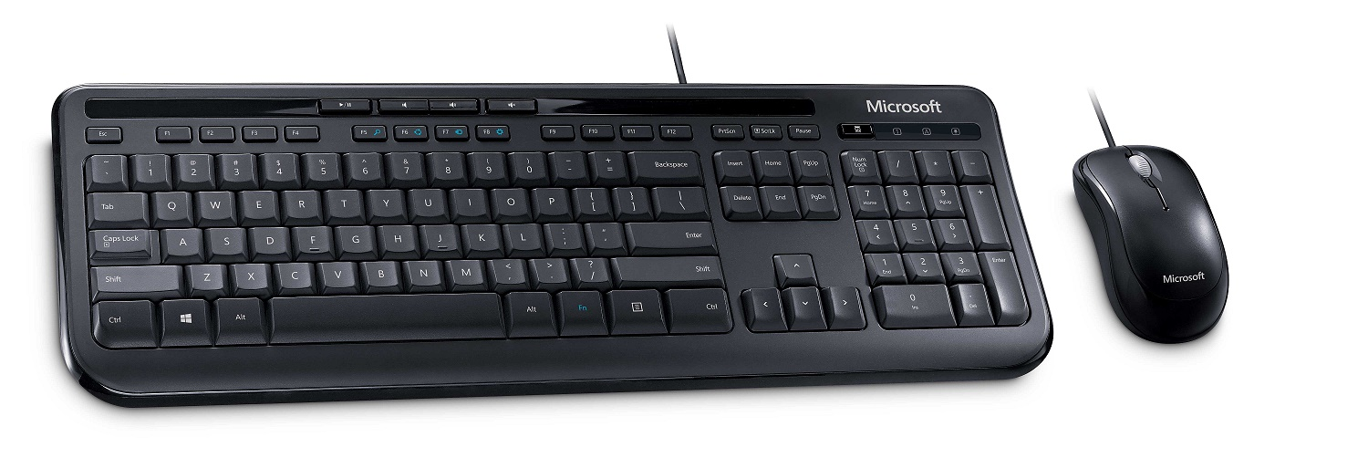 Microsoft Keyboard Mouse Wired 600 USB Πληκτρολόγιο GR 3J2-00014