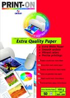 Χαρτί Α4 Print-On Canson Extra Quality 100g 50σελ Color Inkjet