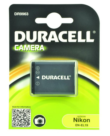 Nikon EN-EL19 Digital Camera Battery 3.7V 700mAh