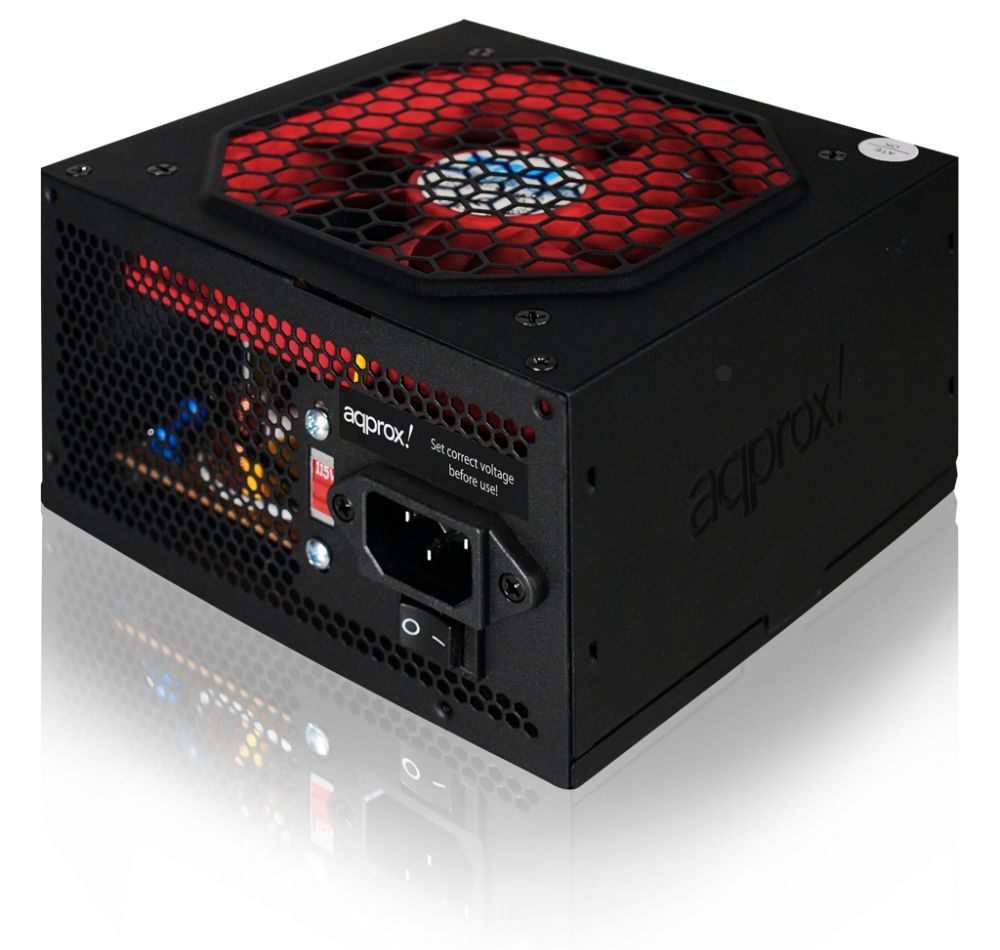 Τροφοδοτικό 500W 12cm ATX APPROX 500PS Retail