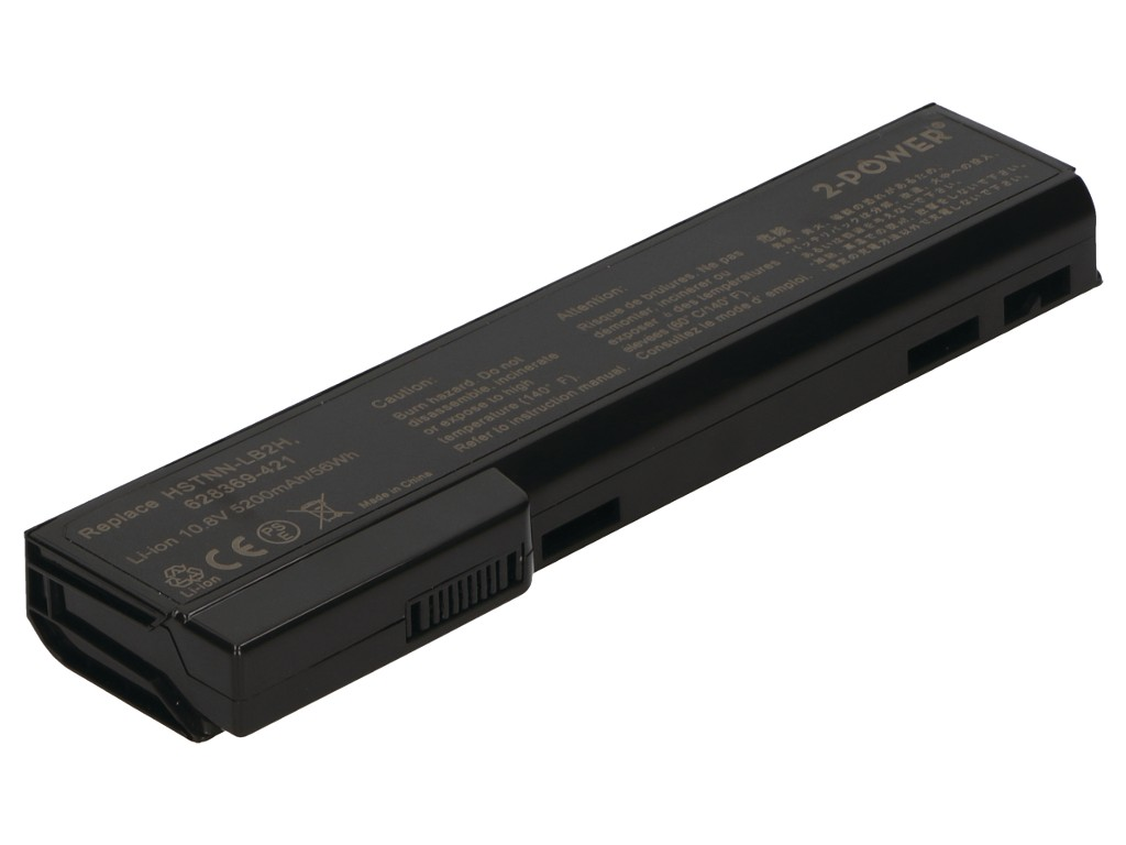 2-Power Μπαταρία HP ProBook Elitebook 10.8V 4600mAh 628668-001