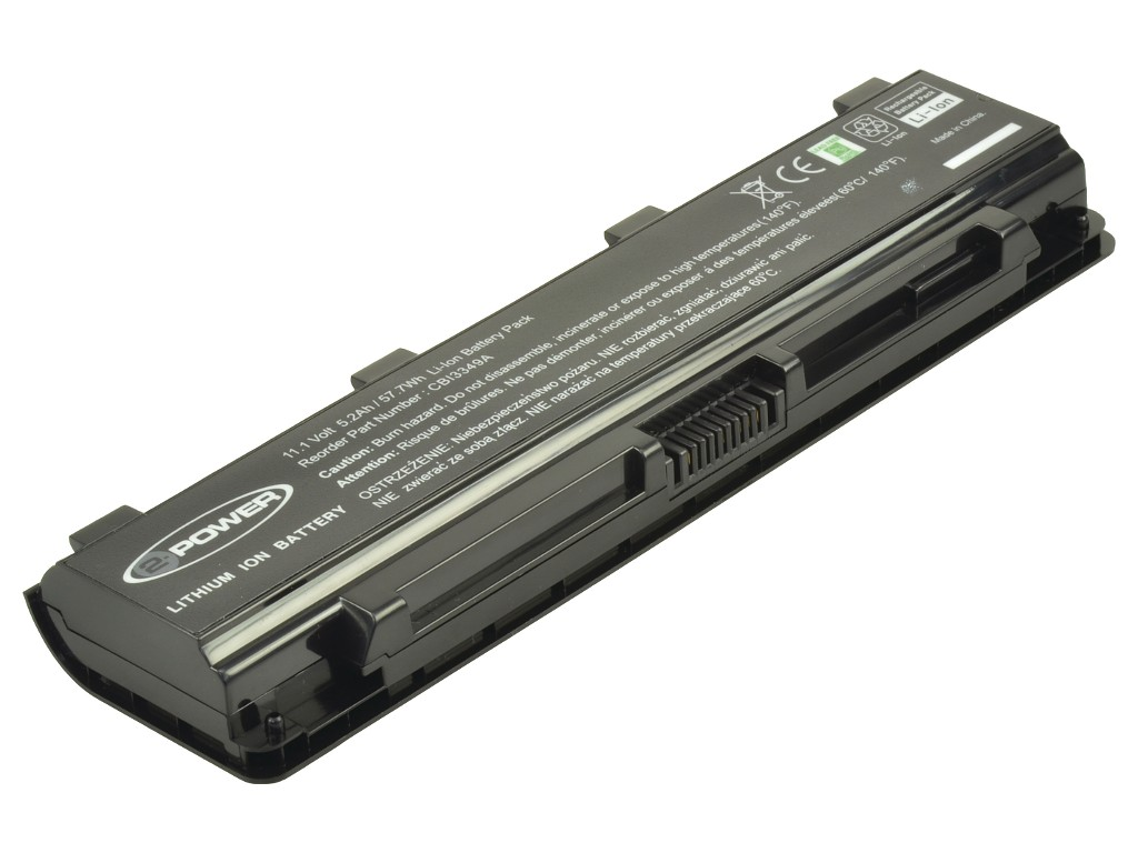 2-Power Toshiba PA5109U-1BRS Main Battery Pack 10.8V 5200mAh
