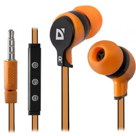 Defender HandsFree Earphones Pulse Android Green/Orange/Red