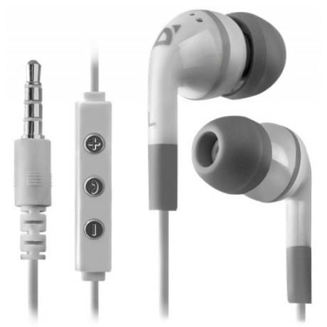 Defender HandsFree Earphones Pulse iPhone iPad White
