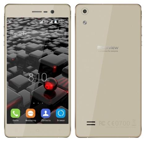 "BLACKVIEW Smartphone Omega Pro 5"" 4G 8-Core 13Mp 3-16Gb Gold"