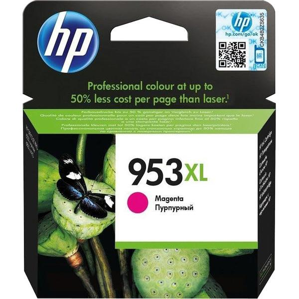 HP 953XL MAGENTA INK CARTR 1600 pages F6U17AE
