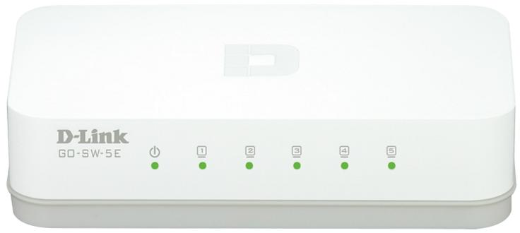 DLINK Switch GO-SW-5E 5port 10/100 Mbps