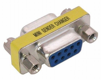 Adaptor Gender Changer Serial 9pin Female/Female (F/F) DB9F/DB9F