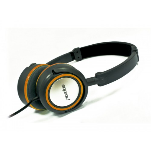 APPROX Hi-Fi Stereo Headsets Orange