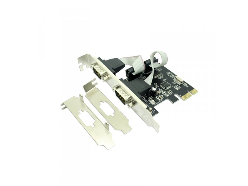 Κάρτα APPROX PCI-E to 2x Serial APPPCIE2S