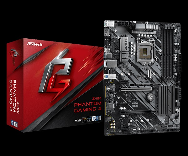 Μητρική Asrock Z490 Phantom Gaming 4 Z490/DDR4/IntelHD/s1200