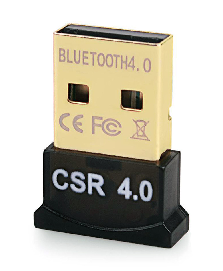Bluetooth V4.0 & EDR USB Δέκτης Plug & Play 20m εμβέλεια max