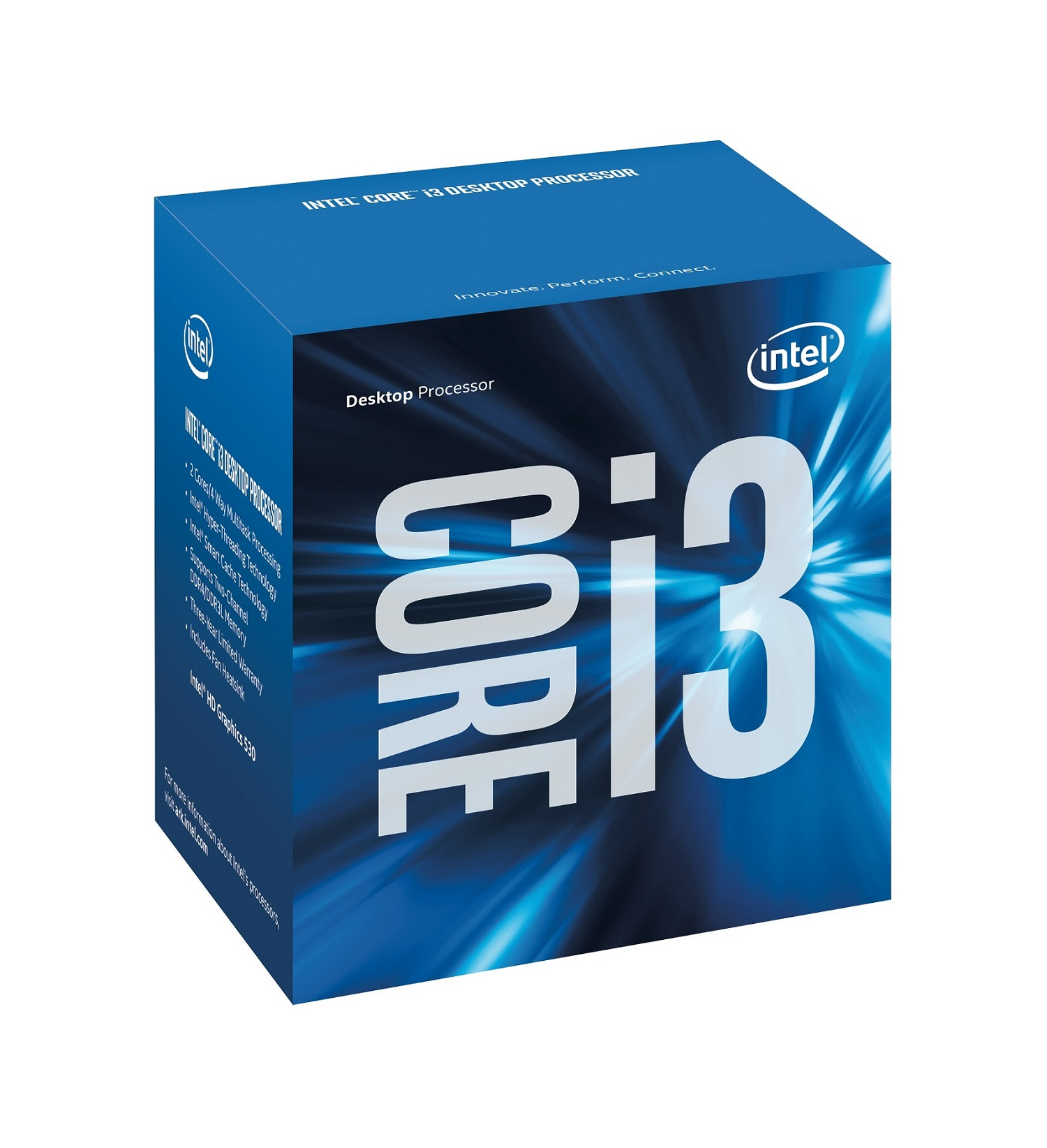 INTEL CORE i3-7100 3,90Ghz/3MB/s1151/51W BX80677I37100