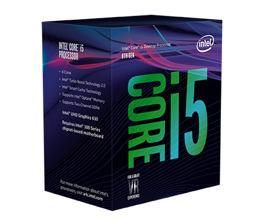 INTEL CORE i5-8400 2,80Ghz/9MB/s1151/65W BX80684I58400