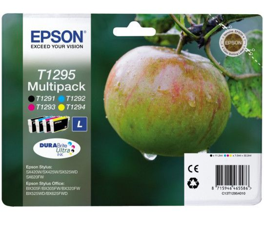 Epson Set Μελανιών C13T12954010 STYLUS PHOTO BX305F/BX320FW