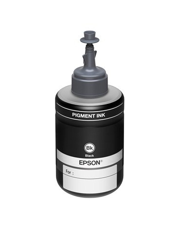 Μαύρο Μελάνι Epson Ink Bottle C13T77414A Black 140ml 6K ITS.
