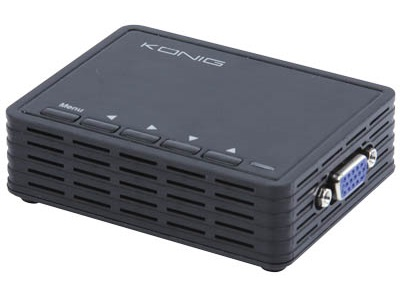 Konig PC to TV Converter VGA to Video Μετατροπέας CMP-TELVIEW 3
