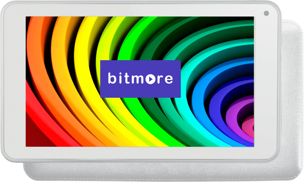 "Tablet Bitmore ColorTab 10"" II Quad 1G/8GB/WiFi/White"