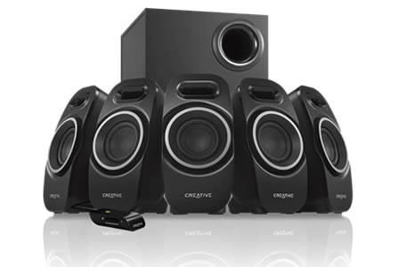 Ηχεία CREATIVE Gaming Speakers SBS A550 5.1/37W RMS/5x5W