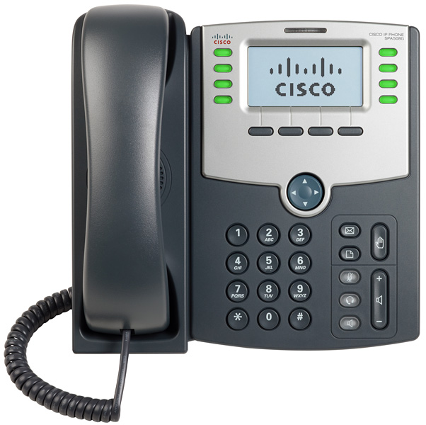 Τηλέφωνο Cisco SPA508G IP Phone Telephony 8 Lines