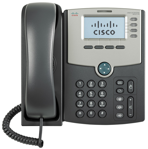 Τηλέφωνο Cisco SPA514G IP Phone Telephony 4 Lines