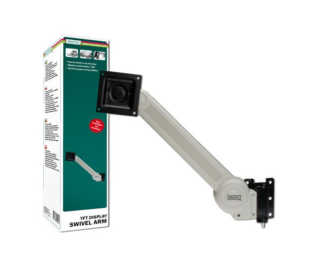 Digitus Wall Mount Arm Βραχίονας Vesa 75/100 DA-90305